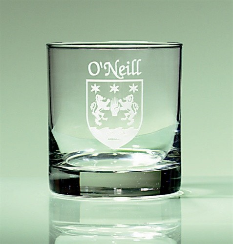 Irish Coat of Arms Tumbler Glasses