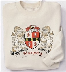 Irish Coat-of-Arms Sweatshirt