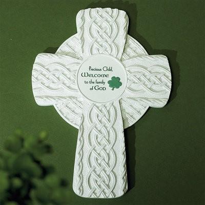 Irish Baptism Cross