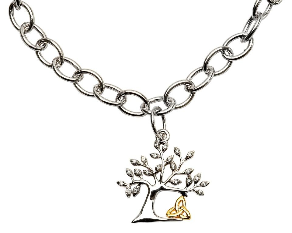 Tree of Life Trinity Irish  Bracelet