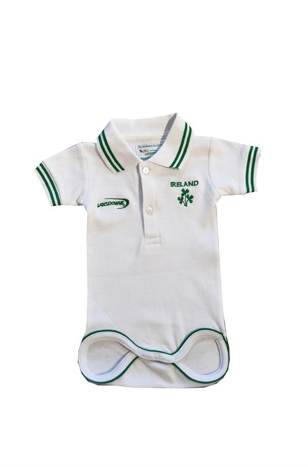 Baby Boy Ireland Polo Onesie
