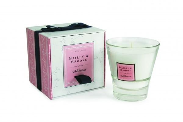 Bailey & Brooke Rose Blossom Filled Tumbler Glass
