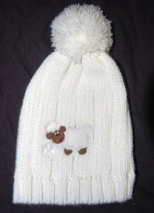 Wee Lamb Infant Irish Cap with Shamrocks