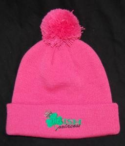 Irish Princess Youth Cap with Pom Pom