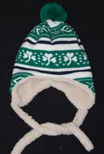 Irish Shamrock Kids Hat