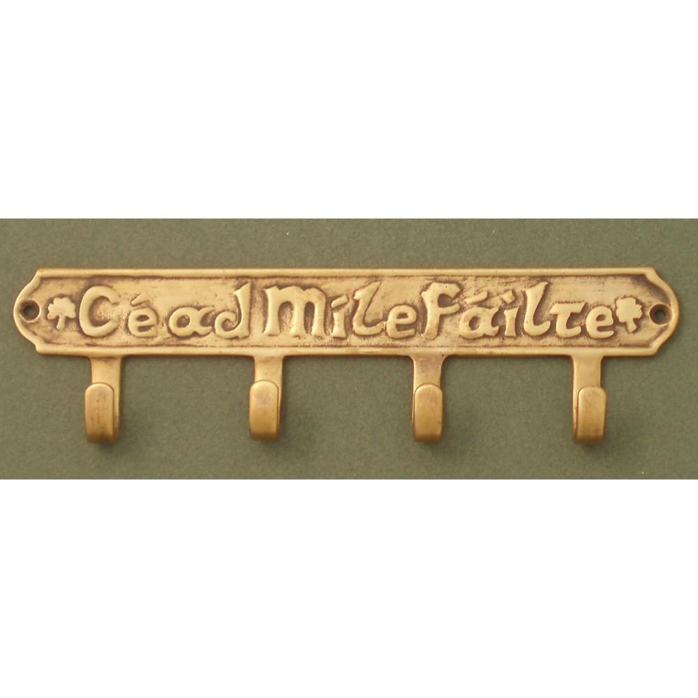 Cead Mile Failte Irish Key Holder