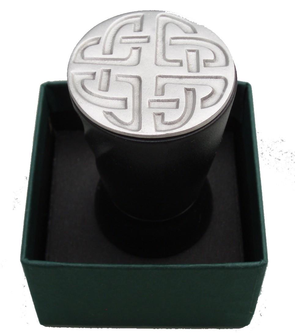 Celtic Knot Wine Bottle Stopper