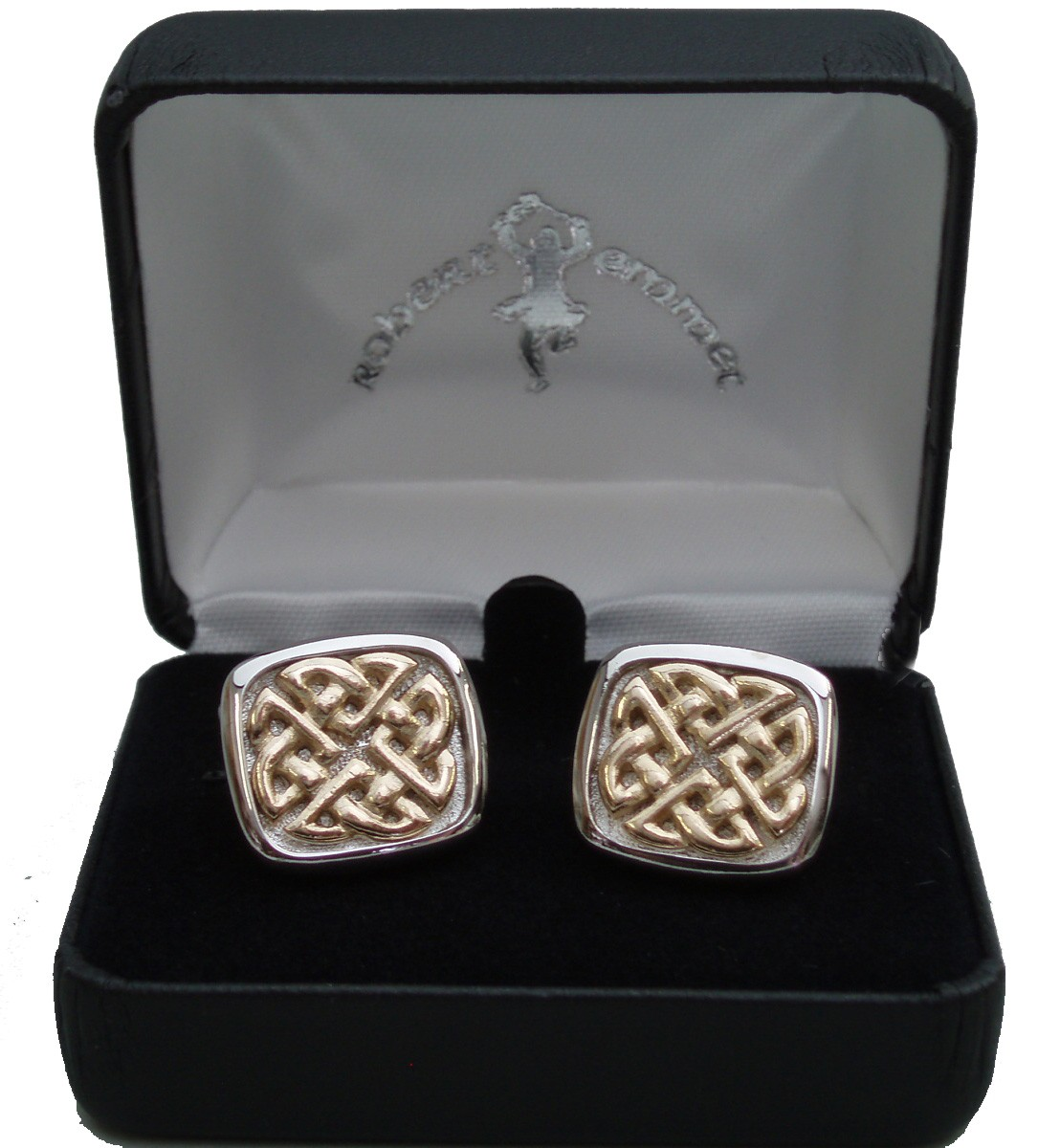 Celtic Weave Cuff Links
