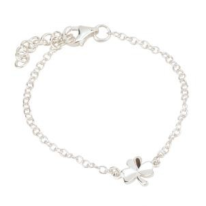 Children S Adjule Irish Shamrock Bracelet