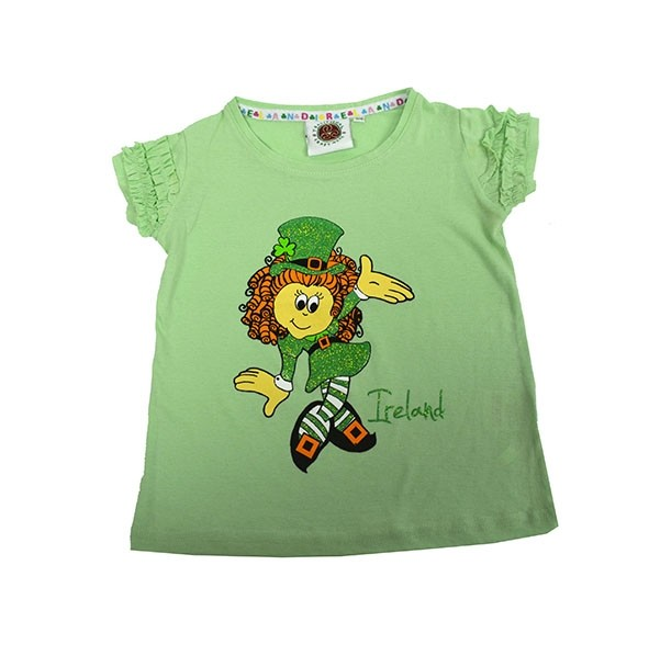 Girls Ireland Frill T-Shirt