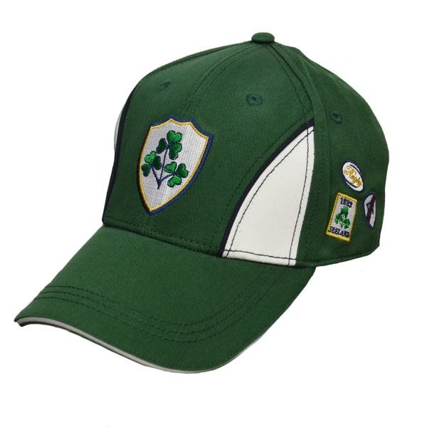 Green Ireland Crest Irish Baseball Cap