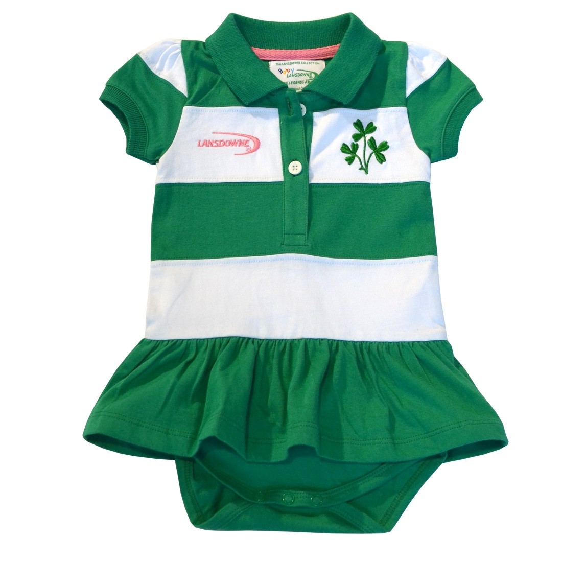 bd320c8e3 Ireland Baby Onesie Dress | Buy Irish Shamrock Dresses for Infants | Baby  Girls Irish Dress with Shamrocks -Irish Expressions Gift Shop