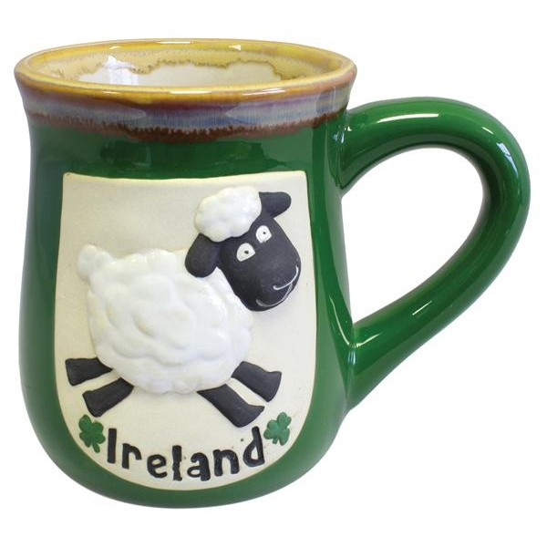 Ireland Sheep Pottery Irish Mug