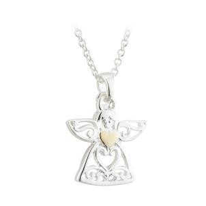 Children's Guardian Angel Pendant