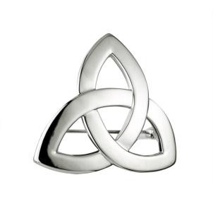 Irish Trinity Knot Brooch