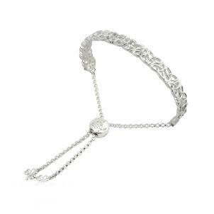 Irish Trinity Knot Drawstring Bangle Bracelet