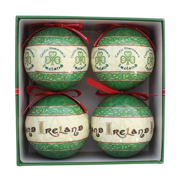 Irish Celtic Christmas Bauble Collection