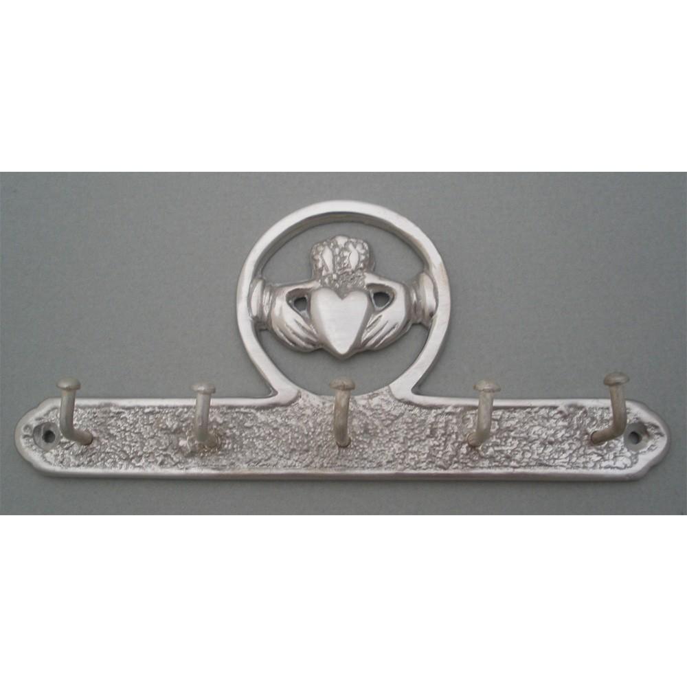 Irish Claddagh Key Holder Nickel Silver