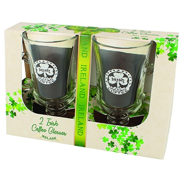 Irish Coffee Glasses Gift Boxed