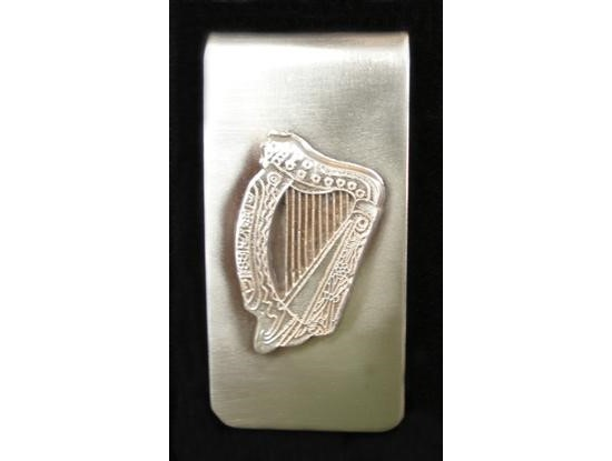 Irish Harp Money Clip