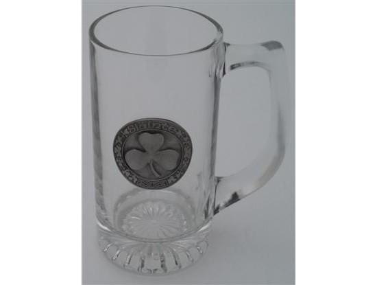 Irish Shamrock 13 Oz. Beer Mug