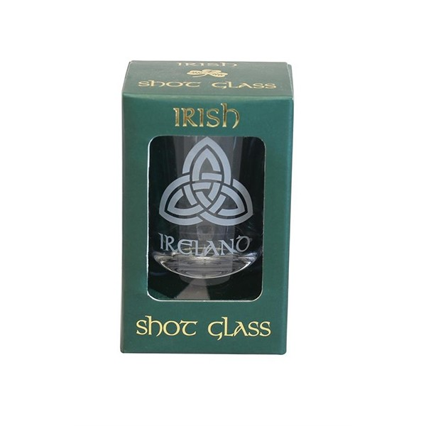 Irish Trinity Knot Shot Glass