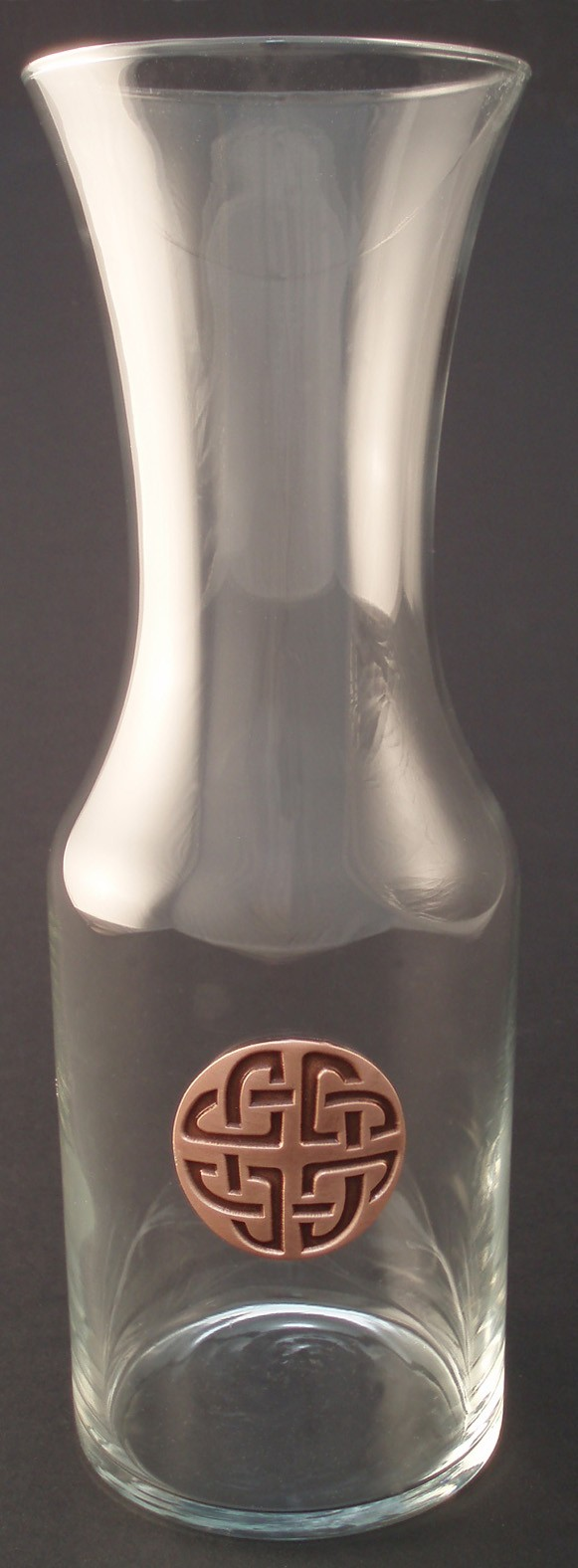 Irish Wine Carafe Pewter Celtic Knot