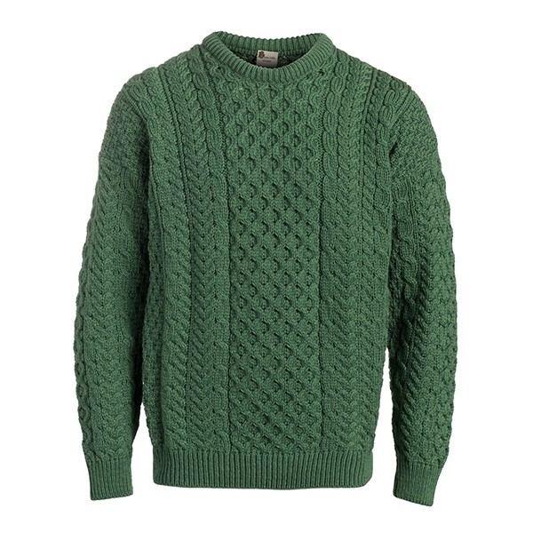 Ladies Traditional Aran Irish Sweater