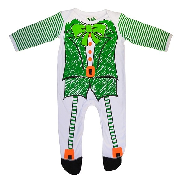 Leprechaun Suit Irish Baby Romper