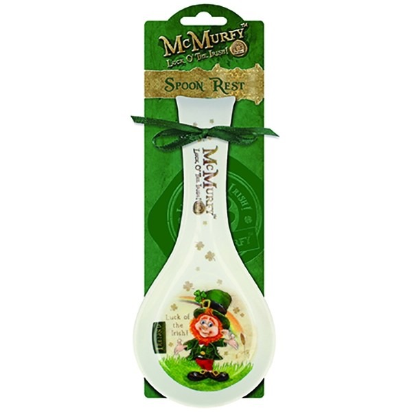 McMurfy Leprechaun Irish Spoon Rest