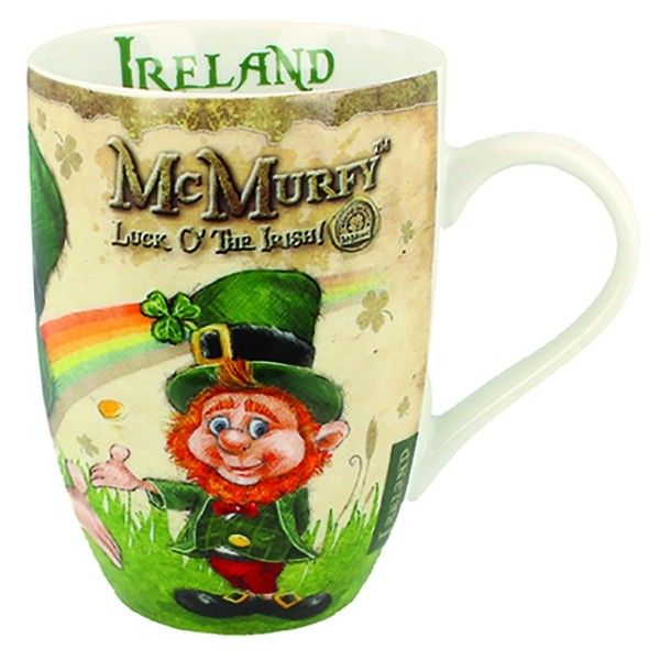 McMurfy Tulip Irish Coffee Mug