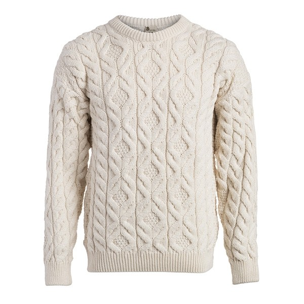 Men's Traditional Cable Irish Sweater