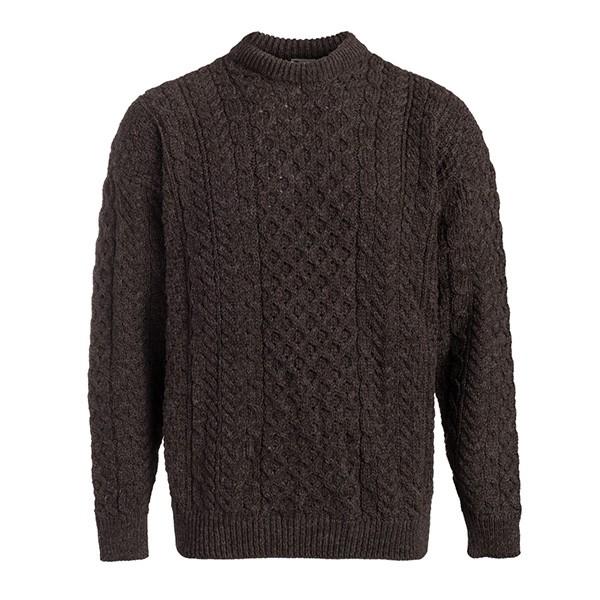 Men's Fisherman Irish Aran Sweater