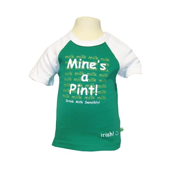 Mines A Pint Irish Baby T-Shirt