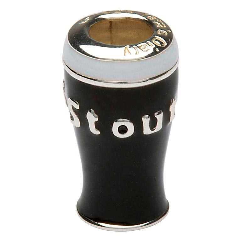 Pint of Stout Irish Charm Bead