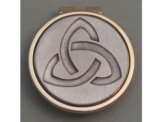 Silver Irish Trinity Knot Money Clip