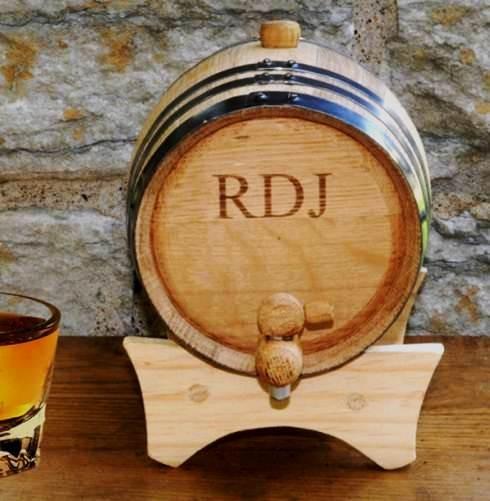 Mini Whiskey Barrel