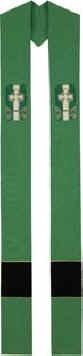 Celtic Cross Design Irish Overlay Stole