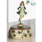 Irish Step Dancer Music Box