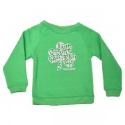Girls Irish Shamrock Sweatshirt