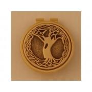Gold Irish Tree of Life Money Clip