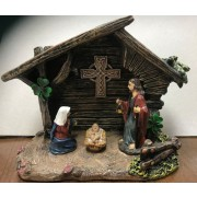 Irish Celtic Nativity Set