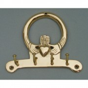 Irish Claddagh Key Holder Four Hooks