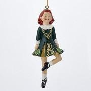 Irish Dancer Christmas Ornament