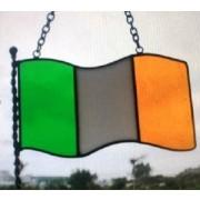 Irish Flag Suncatcher