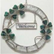 Irish Shamrock Welcome Wreath