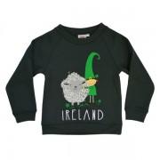 Leprechaun and Sheep Kids Irish Sweatshirt