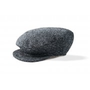Mens Gray Irish Tweed Cap