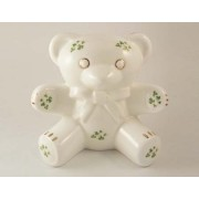 Teddy Bear Bank Trellis Shamrock Royal Tara Fine Bone China