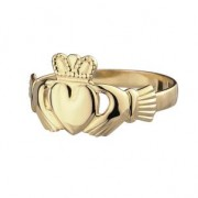 10k  Gold Claddagh Maids Ring